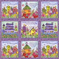Birdhouse Gradens - Patchwork