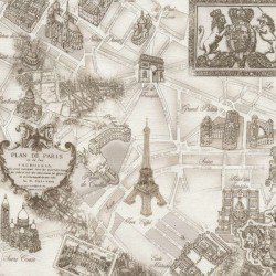 Paris - Cream Toile