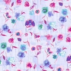 Akvarelové květiny