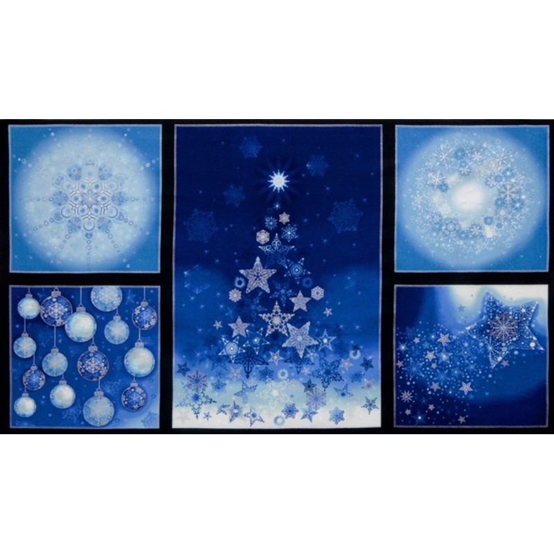 Holiday Ornaments - Blue