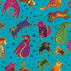 Dogs & Doggies - Aqua