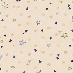 Rainbow Dreams - Tiny Stars Ecru