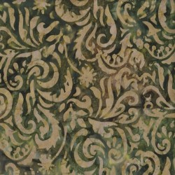 Jungle Scroll Batik