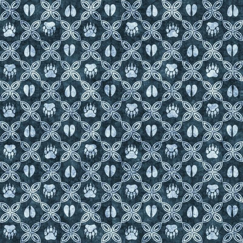 Woodland Spirit - MiniGrid Blue