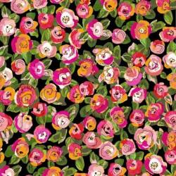 Fantasy Garden - Black Floral