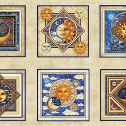 Celestial Sol - Cream Panel