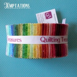 """Temptations - Strips 2.5"""" Jelly Roll"""