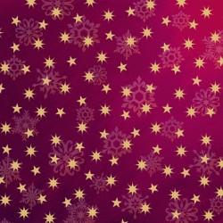 Love & Peace - Stars Magenta