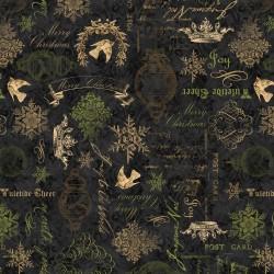 Christmas in Bloom - Black