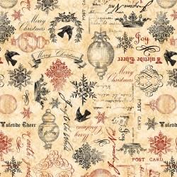 Christmas in Bloom - Cream