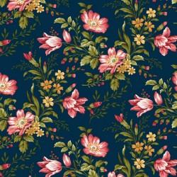 Savannah Garden - Blue Floral