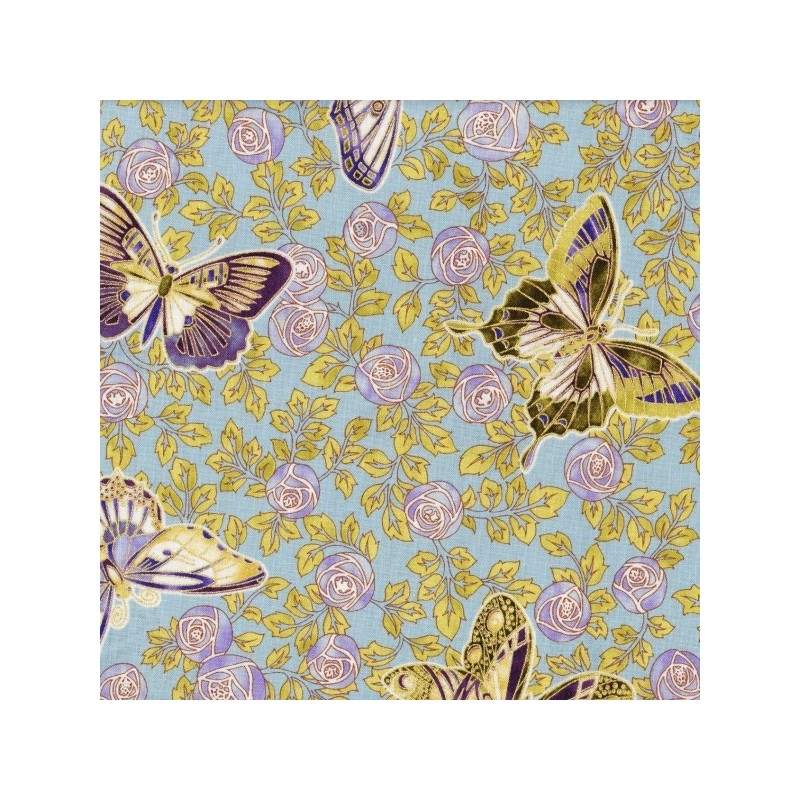 Jewel Floral Butterflies