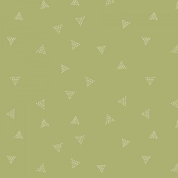 Triangle Dot - Olive