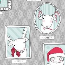 Mingle & Jingle - Santa's Crew Grey