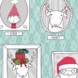 Mingle & Jingle - Santa's Crew Aqua