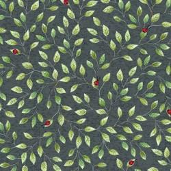 Hangin' Out- Ladybug On Leaf Vine Licorice