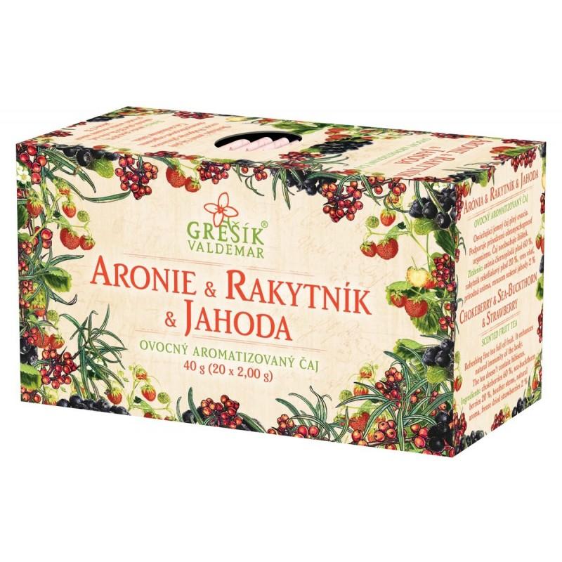 Čaj Aronie & Rakytník & Jahoda