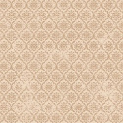 Birds of a Feather - Damask Beige