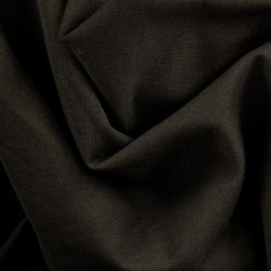 Teplákovina Počesaná - Černá (25 cm)