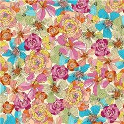 Thalia - Floral Cream