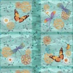 Motýli a vážky - panel