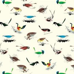 Western Birds - Organic Cotton