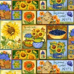 Sunny Blossom - patchwork