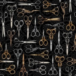 Thimble Pleasures - Scissors Black