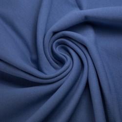 Teplákovina Počesaná - Modrá
