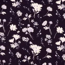 Jersey - Flowers Navy