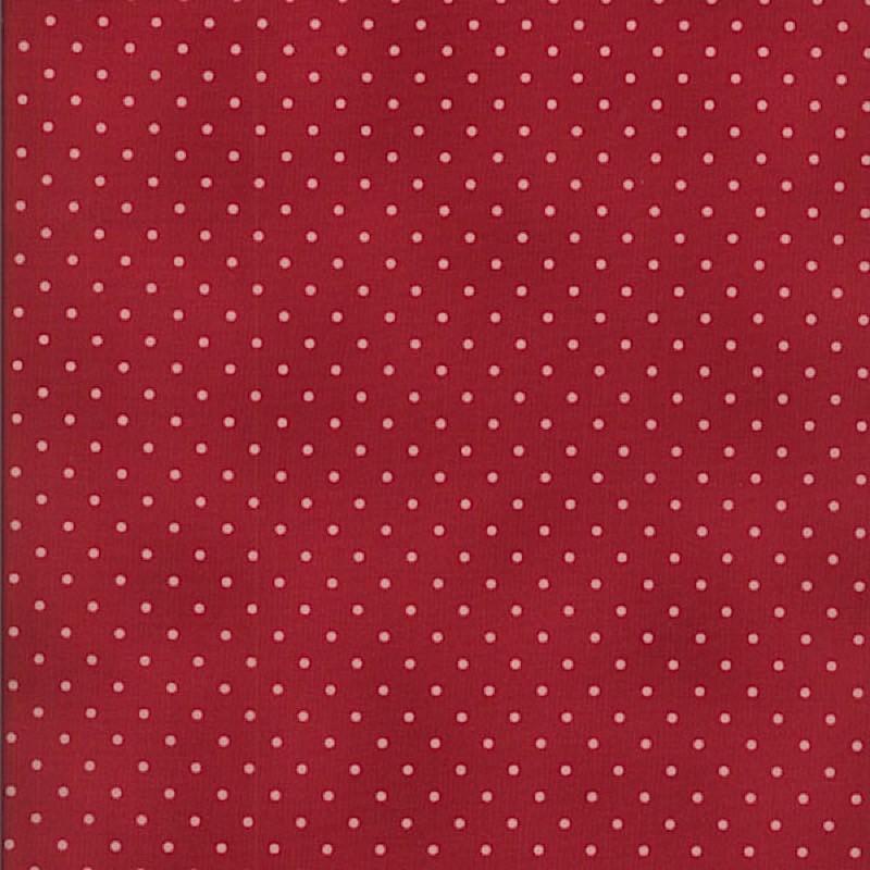 Home Essentials - Dots Dark Red
