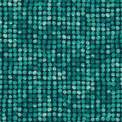 Finger Painted - Dots Green