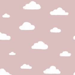 MinLilla - Clouds Dusty Rose*