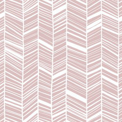MinLilla - Chevron Dusty Rose*