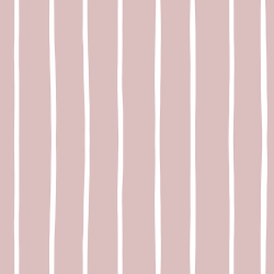 MinLilla - Stripe Dusty Rose*
