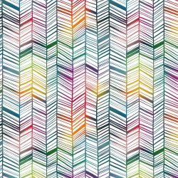 Rainbow Garden - Chevron Small