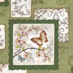 Papillon - Green