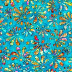 Radiance - Floral Cyan