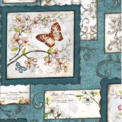 Papillon - Blue
