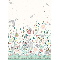 Boho Meadow - Double Border...