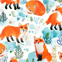 Best In Snow - Foxes (50 cm)