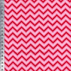 Chevron - Red/Pink