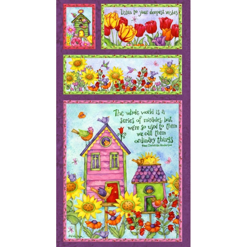 Birdhouse Gradens - Panel
