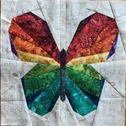 Motýl I. - Šablona - Šití...