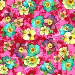 Rosalyn - Small Flowers Pink