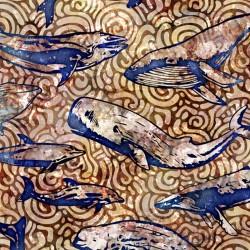 Aquatica - Whales Brown