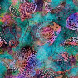 Aquatica - Fish Teal