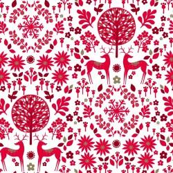 Starlit Hollow Red - Winter...