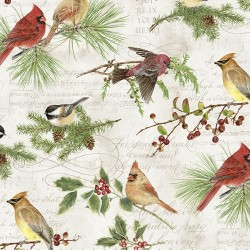 Winter Serenade - Holiday Birds