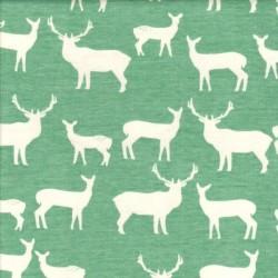 Elk Family Pool - Plátno